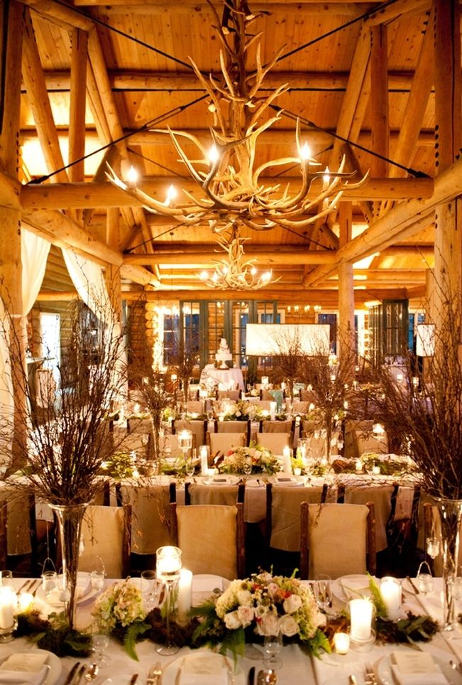 25 best ideas about cabin wedding on pinterest tropical for Cabin wedding venues