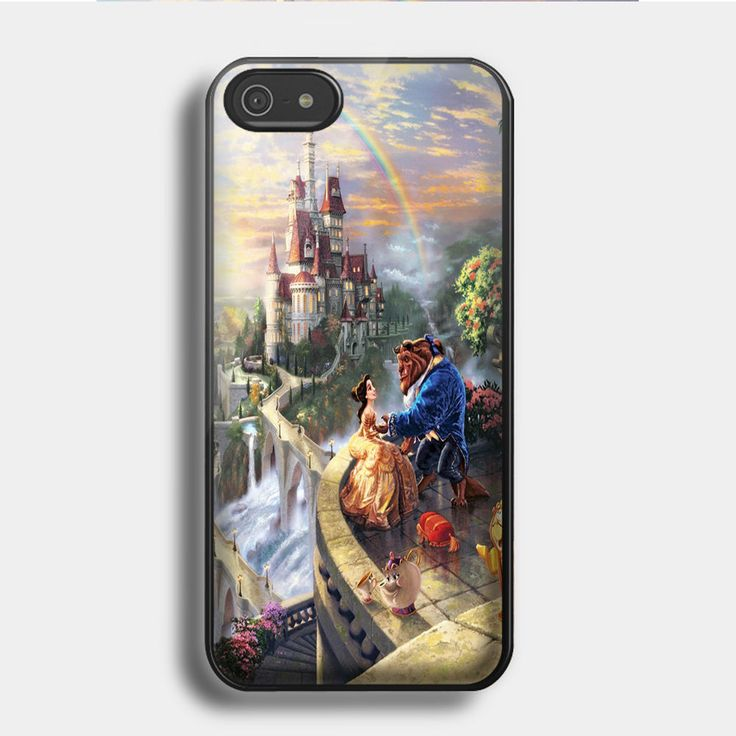 Hard Phone Case beauty and the beast love for iPhone & Samsung Case