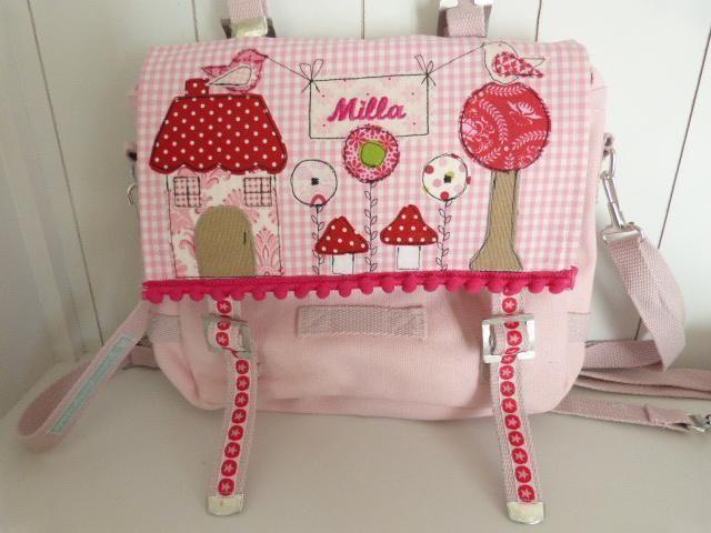 """Kindergartentasche """"Charlotte"""" von julis-fairy-tale auf DaWanda.com"""