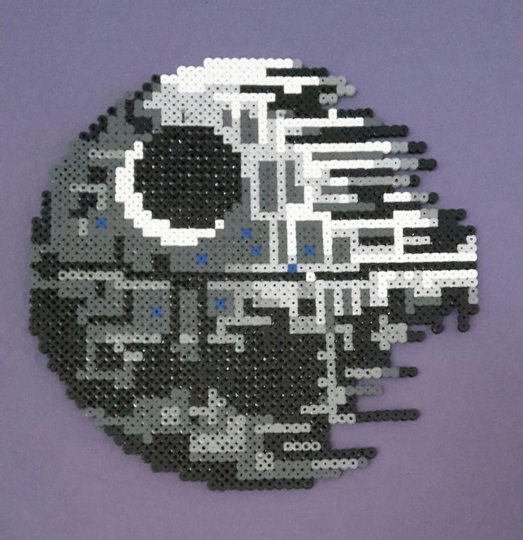 Star Wars Death Star / Hama perler beads / by Bianca Jung