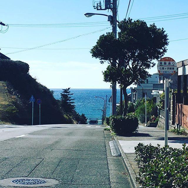 【taico21】さんのInstagramをピンしています。 《/ 午前中の鎌倉はポカポカ陽気。 気持ちの良い天気だったので、お気に入りのコースを通って七里ヶ浜方面へ。 この長い長い下り坂を〜♫ 真冬なのに、夏色がBGMでした。 あー絶景。 鎌倉山を越えるのは過酷ですが、見下ろす景色が大好きで、最近のお気に入りサイクリングコースです。 #七里ヶ浜#鎌倉#海#水平線#マイホーム#新築戸建#注文住宅#住友不動産#ウォールナット#神奈川県#鎌倉さんぽ#鎌倉暮らし#鎌倉散策#kamakuralife#湘南で子育て#鎌倉で子育て》