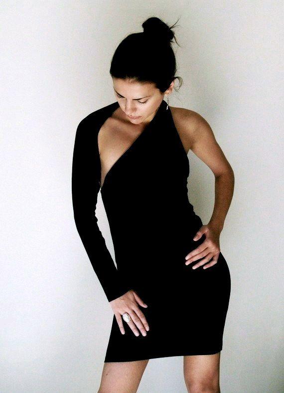 10 Best ideas about Black One Shoulder Dress on Pinterest - Jane ...