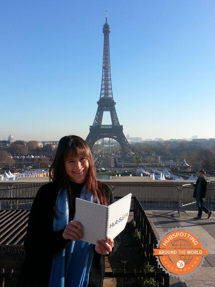 Say hello to Julie of Hoi Moon Marketing, a HubSpot Partner Agency based in Paris, France! #hubspotting