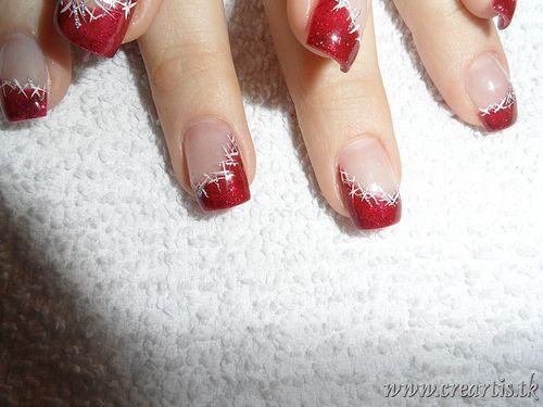 Christmas nail design                                                                                                                                                                                 Más