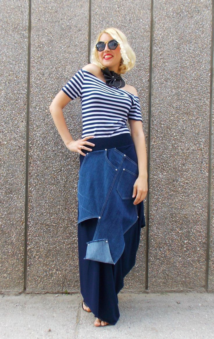 Just in: Denim Skirt / Plus Size Navy Skirt / Extravagant Asymmetrical Skirt / Viscose Summer Skirt / Navy Skirt TS02 https://www.etsy.com/listing/232911685/denim-skirt-plus-size-navy-skirt?utm_campaign=crowdfire&utm_content=crowdfire&utm_medium=social&utm_source=pinterest