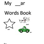Phonics –ar activity pack. The first 2 pages students make their very own flashcards. They cut out the –ar words and then cut out the –ar pictures....Cut Out