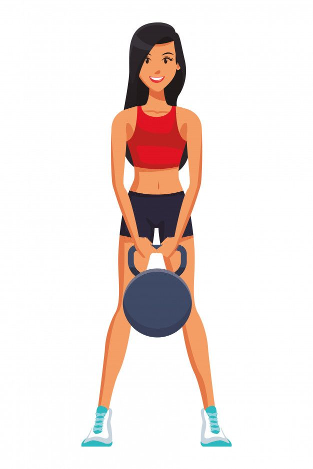 Fitness Mujer Levantando Pesas Rusas Vec Premium Vector Freepik Vector Personas Mujer Dib Fitness Mujer Mujer Dibujo Animado Mujer Haciendo Ejercicio