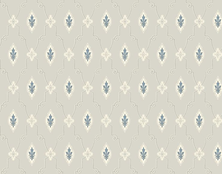 Duro Swedish vintage style wallpaper suitable for old houses