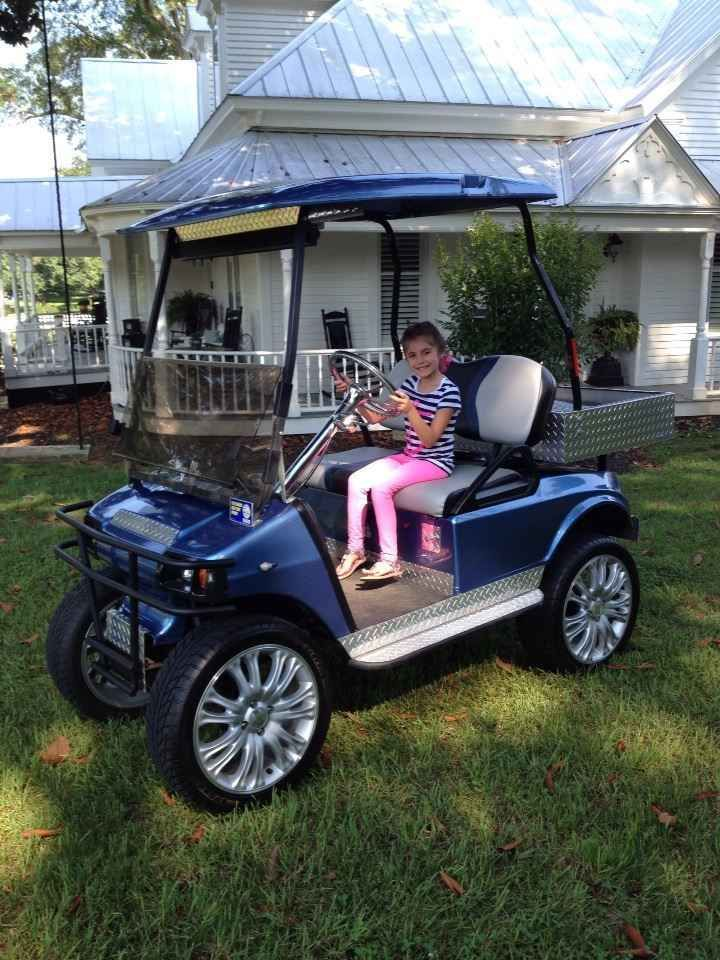 Used 2000 Club Car GAS ATVs For Sale in Georgia. Custom Club Car, lift kit, real car wheels and tires, am/fm, cd bluetooth radio, LED lights and a Briggs & Stratton Vanguard 23 hp.