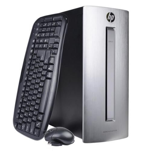 HP ENVY 750-116 Fusion Quad-Core A10-8750 3.6GHz 12GB 2TB DVDRW W10H Desktop PC w/HDMI WiFi & BT - B
