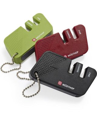 for timmy - wusthof knife sharpener on a keychain