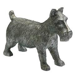 Monopoly Scottish Terrier Dog Game Token Sculpture | Kathy Kuo Home
