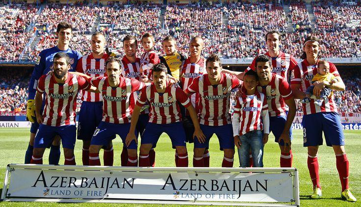 Club Atlético de Madrid · Web oficial - Alineación del ATM - Atlético de Madrid