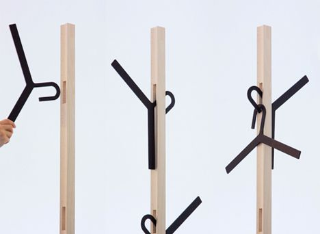 Cool Clothes Hangers and Modern Coat Hangers 4