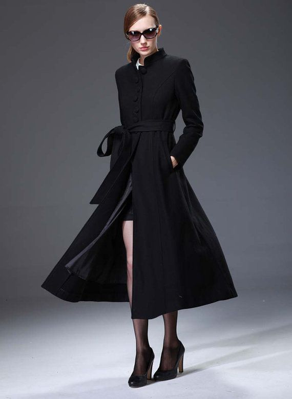33 best Long wool trench coats images on Pinterest