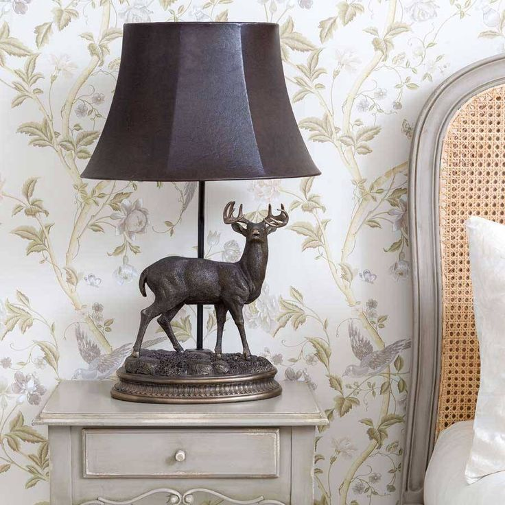 stag lamp luxury lighting from the french bedroom company - Bedroom Decorative Accessories