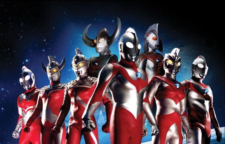 The Ultraman Family!