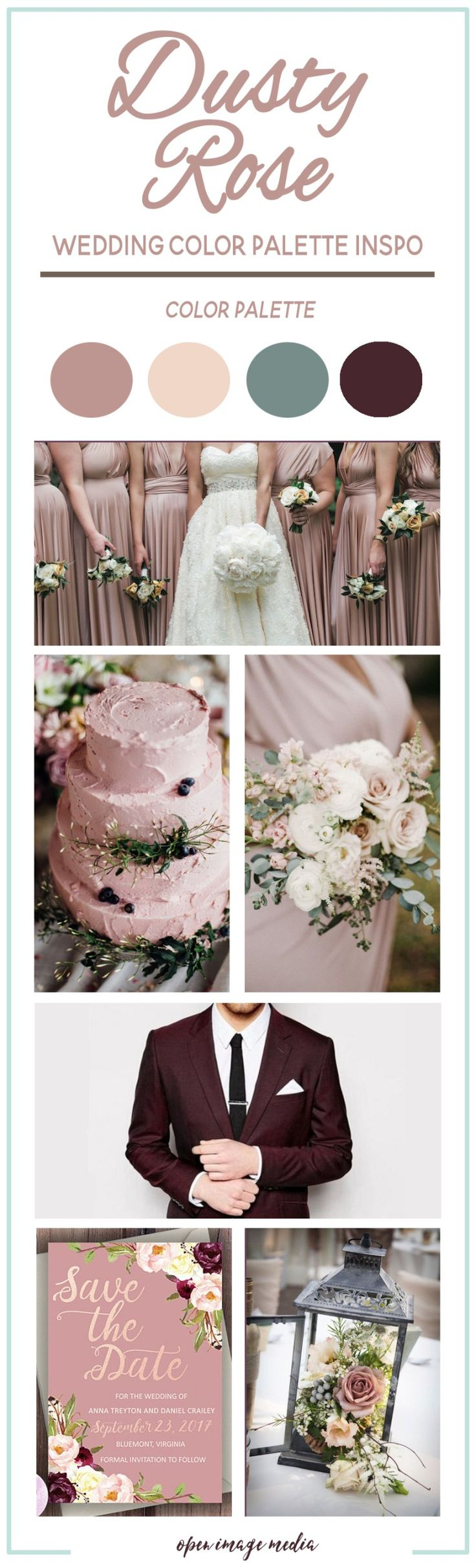 The 25 best dusty rose color ideas on pinterest vintage for Dusty rose wall color