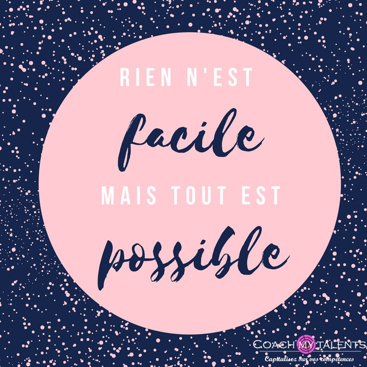 Rien n'est facile mais tout est possible – Céline Dorion