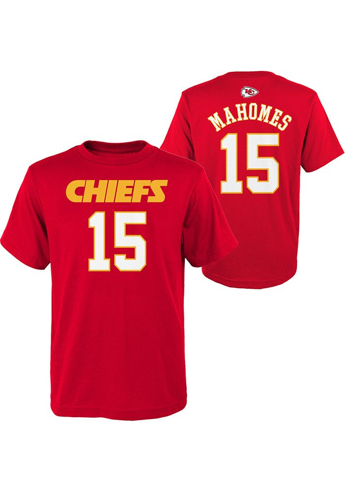 37d4fea7 Kansas City Chiefs Toddler Red Mainliner Short Sleeve Player T Shirt ...