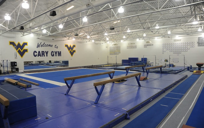 Cary Gym...Home of the Mountaineer Gymnastics Team