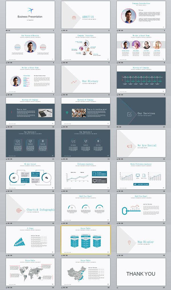 33 best business team introduce keynote template templates