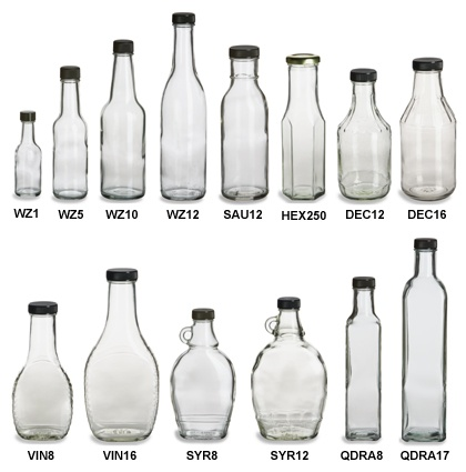 Clear Sauce Bottles - from $0.72 at SpecialtyBottle.com