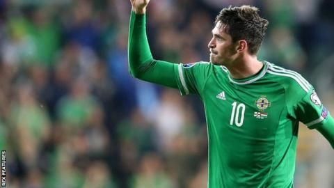 Kyle Lafferty: Birmingham City sign Norwich City's Northern Ireland striker on loan