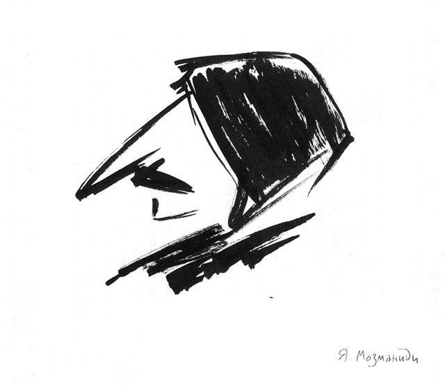 Гоголь в профиль картинки