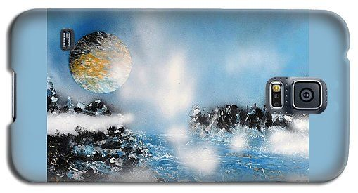 Light Rain Galaxy S5 Case Printed with Fine Art spray painting image Light Rain by Nandor Molnar (When you visit the Shop, change the orientation, background color and image size as you wish)