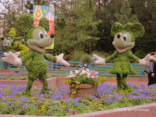 Gardening Enthusiasts Find Lots Of Inspiration At Epcotu0027s International  Flower And Garden Festival