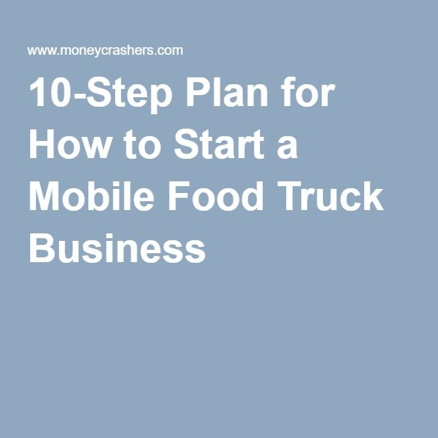 Best Starting A Food Truck Ideas On Pinterest Food Truck - Food truck business plan template