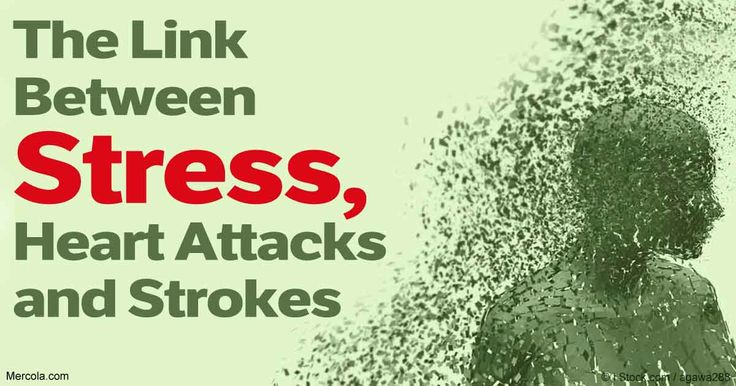 Stress has enormous implications for your health; it increases your risk of heart attack and stroke by causing overactivity in your amygdala. http://articles.mercola.com/sites/articles/archive/2017/02/02/how-stress-influences-heart-attack-stroke-risk.aspx