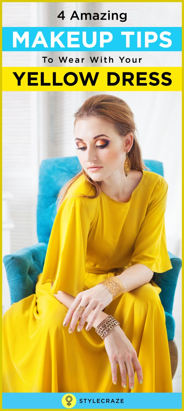 Are you wearing a yellow ensemble for a cousin's wedding and are stumped on how to do your makeup? Worry not, know all about the makeup for yellow dress by reading this post