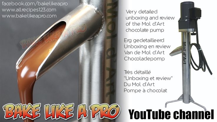 Mol d'Art Chocolate Pump Unboxing And Review by BakeLikeAPro