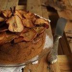 Torta di pere e cannella… con chips di pere