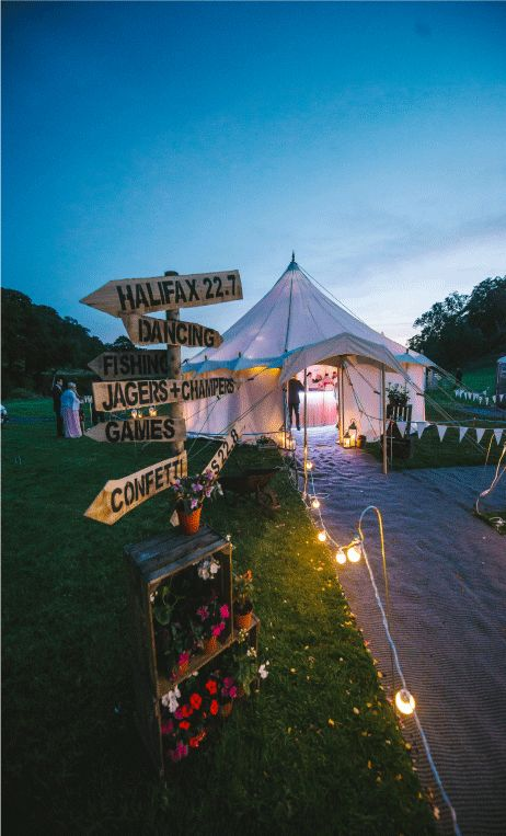 Petal Pole Marquee - Yorkshire Yurts : Yorkshire Yurts