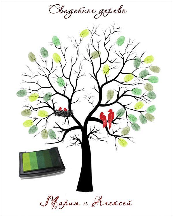Свадебное дерево (желаний).  Подробная инструкция.