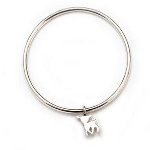 Little Lamb Children's Jewellery - Silver Baby Bangle, 3 Styles by The Little Kidz Closet