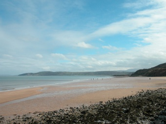 Benllech beach is one of the most family friendly beaches in Anglesey.