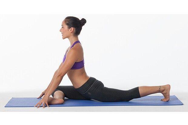 Pin by sonya r. on -Yoga #7- | Piriformis stretch, Yoga ...