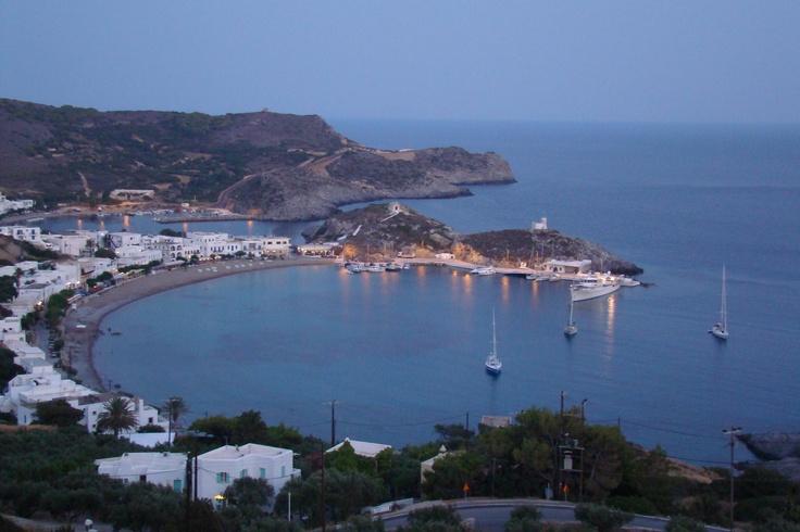 Kapsali Bay, Kythera Island, Greece:  Our family paradise.