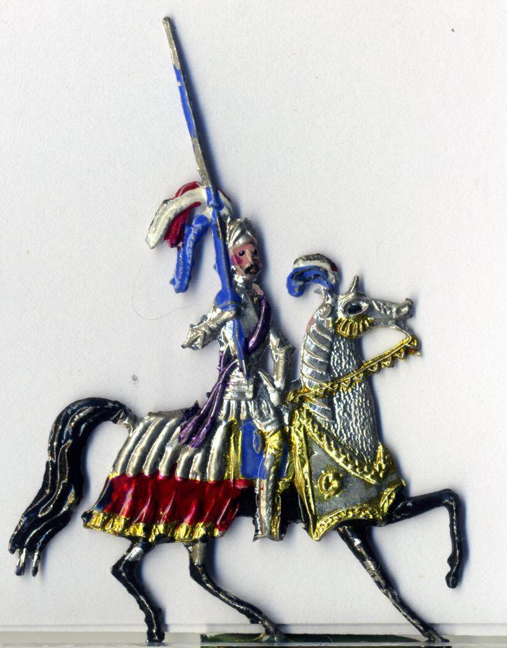 Ritter, Zinn, 1890, Spielzeug