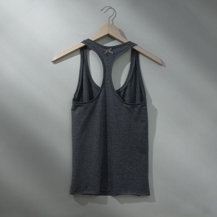 X-back T-shirt Dark Gray