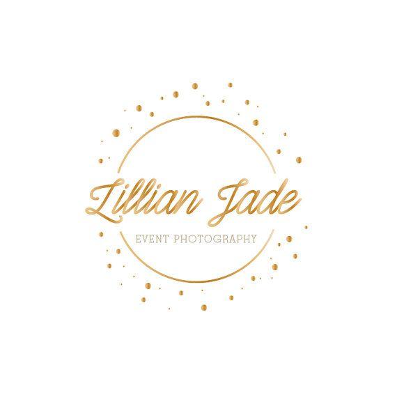Check out this item in my Etsy shop https://www.etsy.com/listing/245456425/custom-premade-logo-design-elegant-gold
