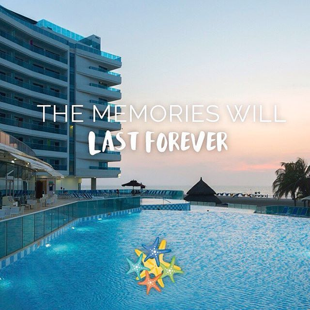 The memories will last forever. Always!   www.hotellasamericas.com.co   #MondayMotivation #ElHoteldeLasEstrellas #Cartagena #Lifestyle #Colombia #ThePreferredLife