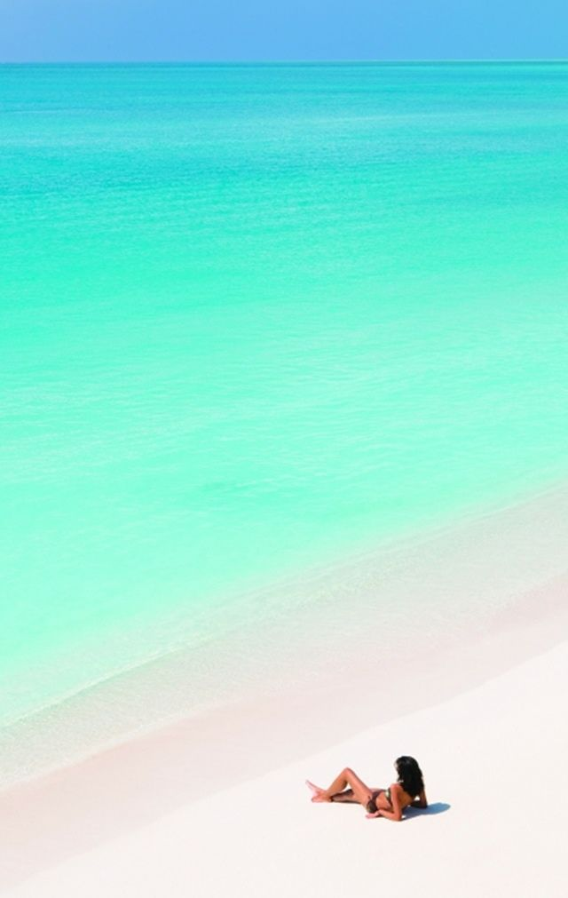 Turquoise sea...