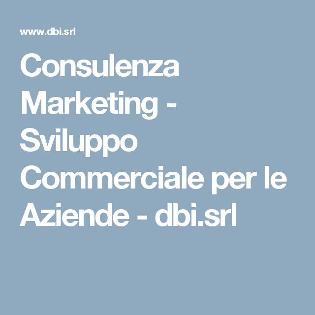 Consulenza Marketing - Sviluppo Commerciale per le Aziende - dbi.srl