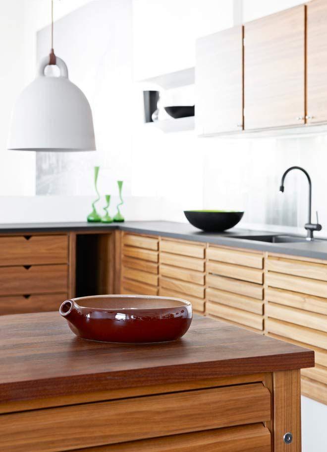 Warm & stylish kitchen