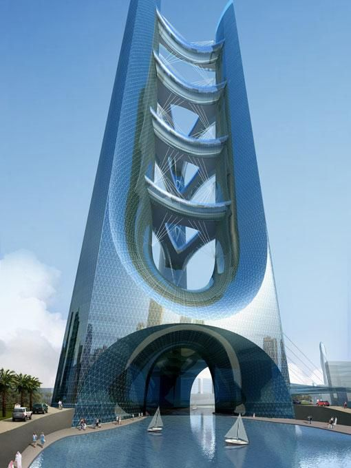 850m Tall Tower Proposed For Dubai